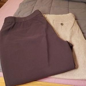 🎉 HP! Bundle of two pairs Plus Sized Dress Slacks